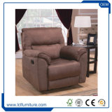China Factory Sale Hotel Wooden Living Room Sofa Leather Fabric Single Sofa Chair