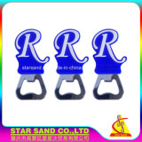 High Class Customized Design 3D Soft PVC Metal Bottle Opener