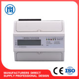 3 Phase 4 Wire DIN Rail Kwh Meter