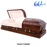 Willow Chape Wholesale Swing Bar Velvet Interior Coffin and Casket