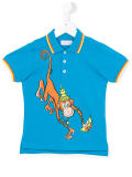 Factory Boy′s Lovely Monkey Printed Polo Shirt