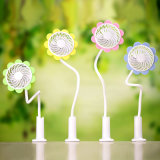 Sunflower Clip Mini Rechargeable Electric USB Mini Fan with Super Cold Wind