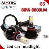 LED Car Headlight H1 H3 H7 H11 H4 880 881 9006 9005 COB LED Headlight, 40W 80W  LED Headlight Kit