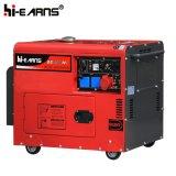 6kw Red Color Silent Diesel Generator Set (DG8500SE)