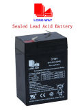 6V4ah Maintenance Free Battery Rechargeable Gel Battery