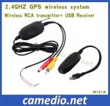 2.4GHz Wireless GPS Rearview System (transmitter+ receiver) for Portable GPS Navigation