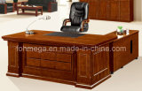 European Office Furniture -Solid& Veneer Executive/Boss/CEO Desk (FOHS-A2023)