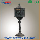 Classic Design Outdoor Stand Cast Aluminum Letter Box pH-565-Al