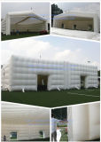Giant White Inflatable Cubetent for Party Event