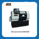 CNC Lathe with Flat Bed and Hardened Rail (JD40/CK6140)