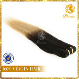 New Arrival T-Color Factory Price 100% Full Cuticle Virgin Remy Human Hair Straight (TFH-NL0036)