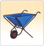 Folding Fabric Handle Tools Garden Sack Cart Wb0400