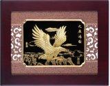 24k Gold Foil Craft Art - Eagle (CJG2734-03)