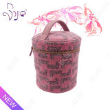 Lady Pink 2016 New Fashion Organizer Cylindrical Storage Bag