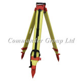 Heavy-Duty Birch Wood Tripods for Total Stations