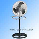 18′′ Industrial Fan 2 In1 with Black Blade