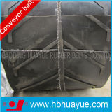Chenron Rubber Conveyor Belt Pattern Black Ep Rubber Conveyro Belt
