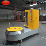 Luggage Wrapper Baggage Packer Airport Plastic Film Stretch Wrapping Machine