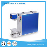 20W 30W 50W Metal Fiber Laser Marking Machine for Plastic Ring Phone Case Tag