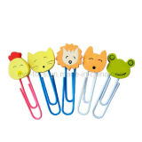 Stationery, Cartoon Design Metal Clip, Promotion Gift (WJ277958)