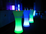 LED Lighting Cocktail Table, Illuminated LED Table Furniture (GR-PL25)