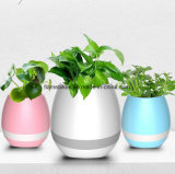 New Bluetooth Speaker Music Flower Pot with LED