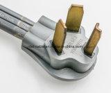 6/2 & 8/2 Srdt 50-AMP Range Appliance Power Supply Cord, 6-Feet, Black