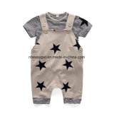 Cute Baby Boys Clothes Toddler Boys′ Romper Jumpsuit Overalls Stripe Rompers Sets Esg10169