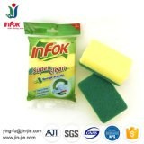 Polyester Kitchen Cleaning Sponge Scouring Filter Pad
