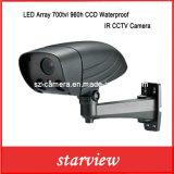 LED Array 700tvl 960h CCD Waterproof IR CCTV Camera
