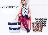 Fashion Printed Large Tote Handbag Beach Bag Diaper Mummy Bag