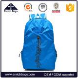 Factory Price Foldable Bag Lightweight Travel Backpack with Bottle Holder