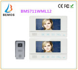 7 Inch Touch Screen Video Door Phone with Doorbell Intercom 1-Camera 2-Monitor Night Vision