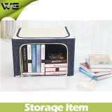 Oxford Cloth Folding Storage Cabinet Collapsible Storage Box
