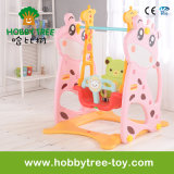 2017 Deer Style Plastic Baby Swing Set for Family (HBS17008C)