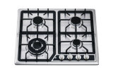 North America Hot Sell of Gas Stove Four Burner Stainless Steel Finish