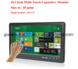 Multi Capacitive Touch 10.1 Inch VGA LCD Monitor IPS Panel 1024X 600