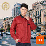 OEM Red and Black Coal Mine Workwear Uniform, Mechanic Workwear for Men
