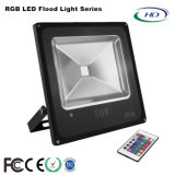 10W-50W RGB-Series LED Flood Light with Super Bright LEDs