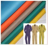 Hot Sale Workwear/Overall Fabric Tc65/35 21X21 108X58 Uniform Fabric