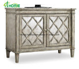 French Style Living Room Fancy/Elegant Mirrored Chest of Drawers