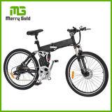 26 Inch Tire Big Wheel Battery-Hidden Folding Electric Bike