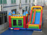 Commercial Inflatable Castle and Slide Combo with Cheap Price