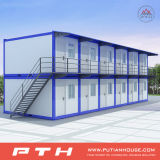 Multi-Floor Modern Prefabricated Container House as Modular Building