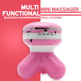 Charming Bright Color Wireless Bluetooth Mini Audio + Body Massager