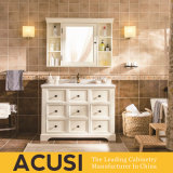 New Arrival Hot Selling Modern Simple Style Solid Wood Bathroom Vanity (ACS1-W52)