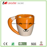 High Quality Ceramic Coffee Mug Mug with Fox Design Porcelain Mug for Promotion Gift