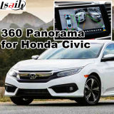 Rear View & 360 Panorama Interface for 2016 Honda Civic Accord with Lvds RGB Signal Input Cast Screen