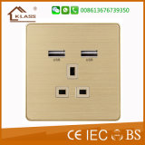 Good Quality UK Wall Electric USB Socket Outlet