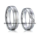 New CZ Stone 925 Sterling Silver Wedding Diamond Ring
